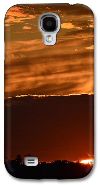 Nature Abstracts Galaxy S4 Cases - Sunset In Summer  Galaxy S4 Case by Lyle Crump