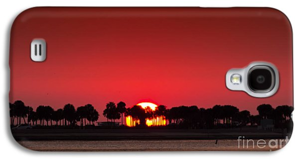 Beach Landscape Galaxy S4 Cases - Sunset Galaxy S4 Case by Marvin Spates