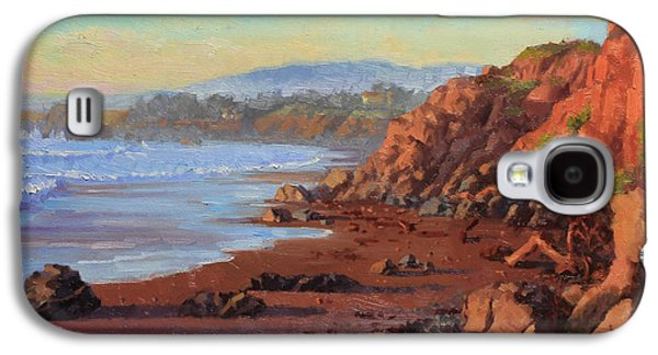 Sunset On Cambria Ca Galaxy S4 Case by Gary Kim