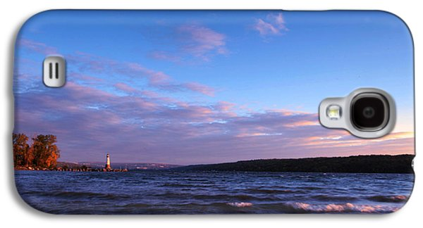 Ithaca Galaxy S4 Cases - Sunset on Cayuga Lake Ithaca Galaxy S4 Case by Paul Ge