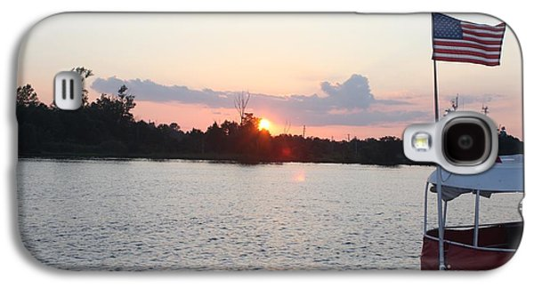 Sun Galaxy S4 Cases - Sunset On The Cape Fear River North Carolina Galaxy S4 Case by John Telfer