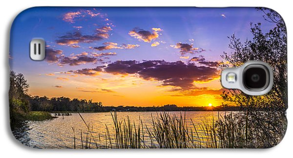 Sunset On The Lake Galaxy S4 Case by Marvin Spates