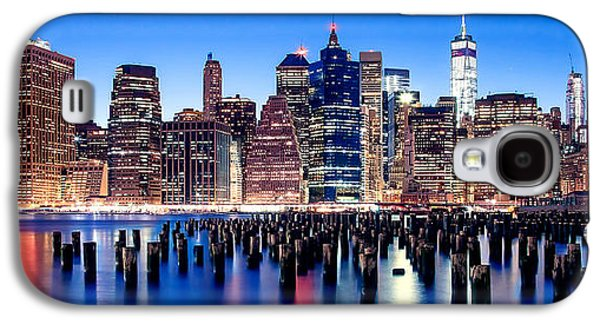 Magic Manhattan Galaxy S4 Case by Az Jackson