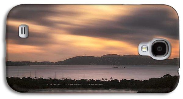 Sunset Over St. John And St. Thomas Panoramic Galaxy S4 Case by Adam Romanowicz