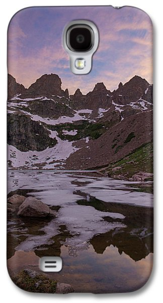 Sunset Over Willow Lake Galaxy S4 Case by Aaron Spong