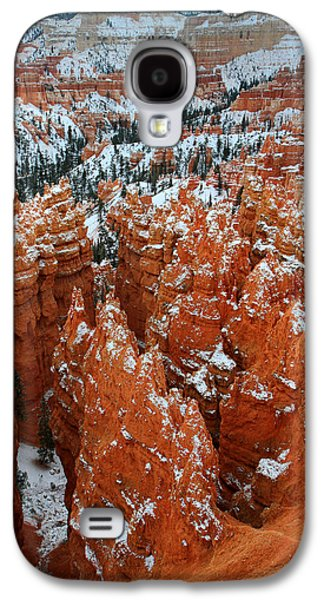 Colum Galaxy S4 Cases - Sunset point in Bryce Canyon Galaxy S4 Case by Pierre Leclerc Photography