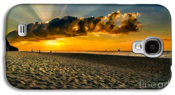 Sunset Puka Beach Galaxy S4 Case by Adrian Evans