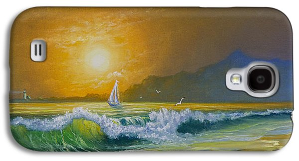 Sunset Sails Galaxy S4 Case by C Steele
