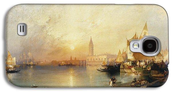 Sunset Venice Galaxy S4 Case by Thomas Moran