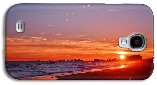 Original Art Photographs Galaxy S4 Cases - Sunset Vibrance Galaxy S4 Case by Kelly Nowak