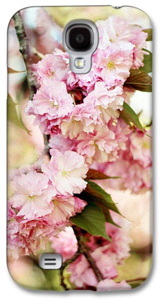 Cherry Blossoms Galaxy S4 Cases - Sunshine Blossom Galaxy S4 Case by Jessica Jenney