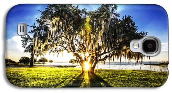 Waterscape Galaxy S4 Cases - Sunshine in the Oaks Galaxy S4 Case by Debra and Dave Vanderlaan