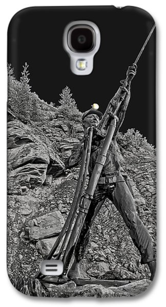 Idaho Photographs Galaxy S4 Cases - Sunshine Mine Fire Monument - Idaho State Galaxy S4 Case by Daniel Hagerman