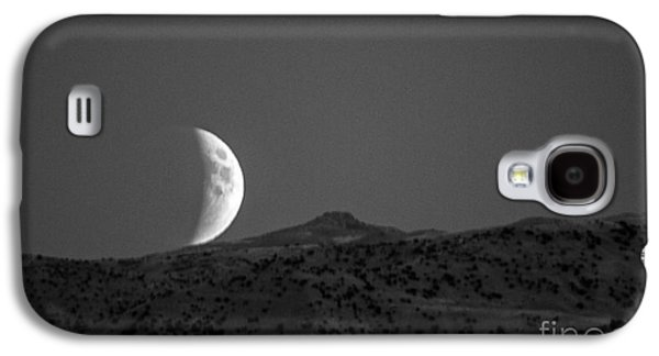 Surreal Landscape Galaxy S4 Cases - Super Moon Rise Eclipse Galaxy S4 Case by Robert Bales