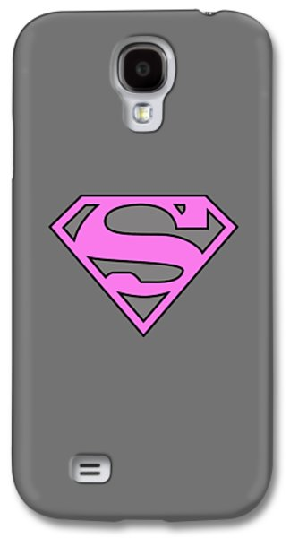 Supergirl Collection Galaxy S4 Case by Marvin Blaine
