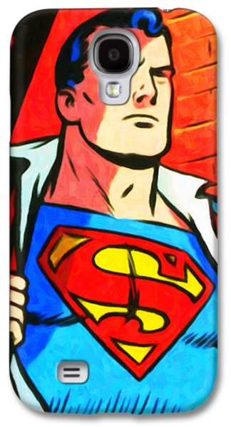 Superman Galaxy S4 Case by Lanjee Chee