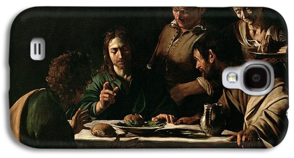 Supper At Emmaus Galaxy S4 Case by Michelangelo Merisi da Caravaggio