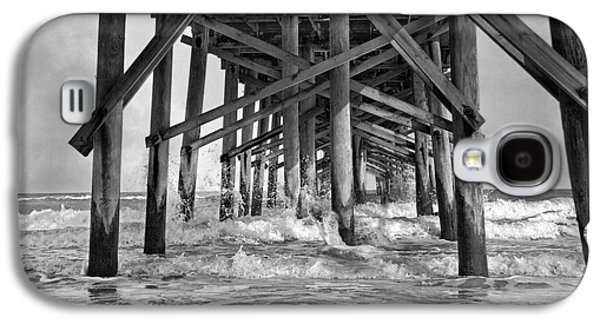 Topsail Galaxy S4 Cases - Jolly Roger Pier A Dreamers Day Galaxy S4 Case by Betsy C  Knapp