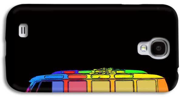 Digital Design Galaxy S4 Cases - Surfer Van Galaxy S4 Case by Edward Fielding