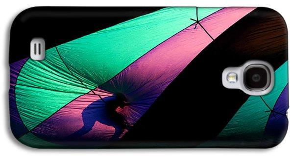 Hot Air Balloon Galaxy S4 Cases - Surfing the Silk Galaxy S4 Case by Mike  Dawson