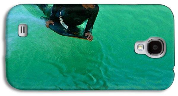 Animation Galaxy S4 Cases - Surfing waves Galaxy S4 Case by Ilija Markovski