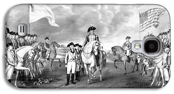 George Washington Galaxy S4 Cases - Surrender Of Lord Cornwallis At Yorktown Galaxy S4 Case by War Is Hell Store