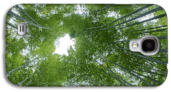 Surreal Landscape Galaxy S4 Cases - Surrounded by Bamboo Galaxy S4 Case by Brian Kamprath