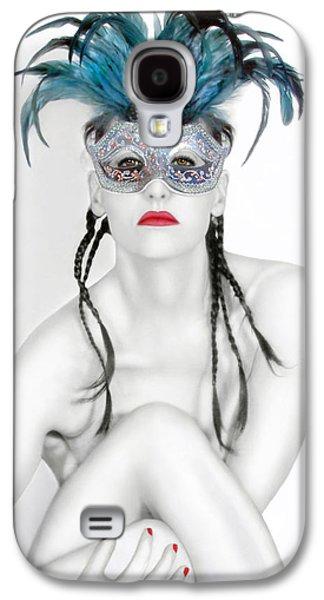 Survivor Art Galaxy S4 Cases - Survivor - Self Portrait Galaxy S4 Case by Jaeda DeWalt