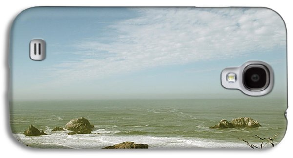 Wind Photographs Galaxy S4 Cases - Sutro Baths San Francisco Galaxy S4 Case by Linda Woods