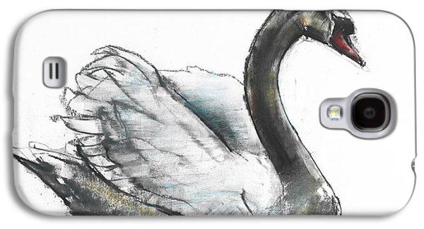 Swan Galaxy S4 Case by Mark Adlington