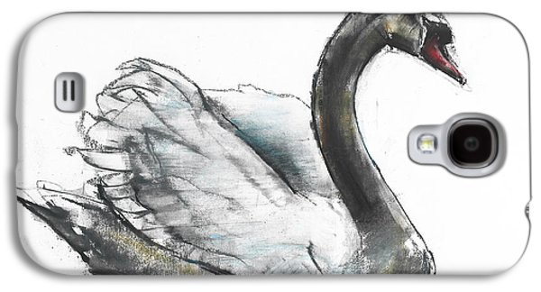 Swans... Galaxy S4 Cases - Swan Galaxy S4 Case by Mark Adlington