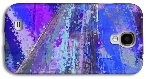 Abstract Digital Tapestries - Textiles Galaxy S4 Cases - Sweet Sailing Dreams Galaxy S4 Case by Suzi Freeman