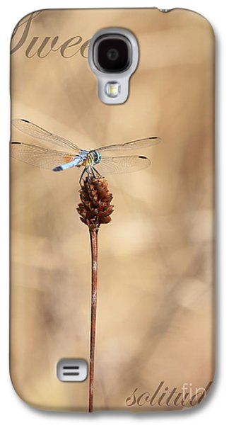 Quiet Time Photographs Galaxy S4 Cases - Sweet Solitude Galaxy S4 Case by Carol Groenen