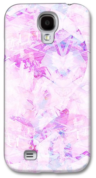 Abstract Digital Paintings Galaxy S4 Cases - Sweet Tooth Galaxy S4 Case by Beth Travers
