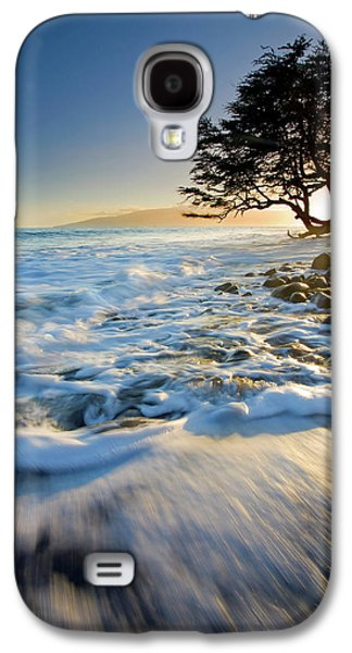 Landscapes Photographs Galaxy S4 Cases - Swept out to Sea Galaxy S4 Case by Mike  Dawson