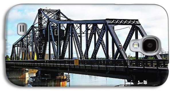 Mechanism Galaxy S4 Cases - Swing Bridge Galaxy S4 Case by Debbie Oppermann