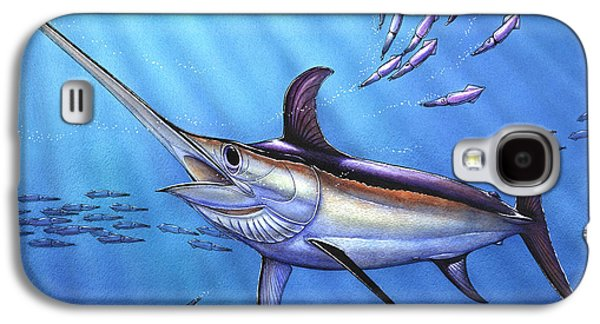 Swordfish In Freedom Galaxy S4 Case by Terry  Fox