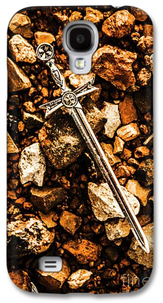 Swords And Legends Galaxy S4 Case by Jorgo Photography - Wall Art Gallery