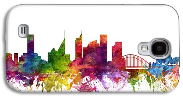 Australia Drawings Galaxy S4 Cases - Sydney Australia Cityscape 06 Galaxy S4 Case by Aged Pixel