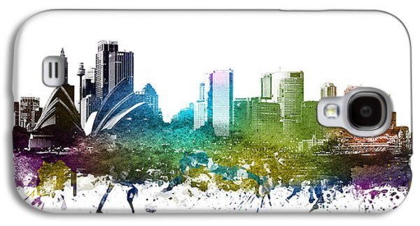 Sydney Cityscape 01 Galaxy S4 Case by Aged Pixel