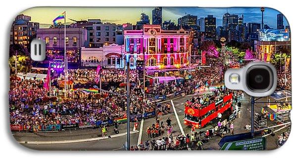 Pride Galaxy S4 Cases - Sydney Gay and Lesbian Mardi Gras Parade Galaxy S4 Case by Az Jackson