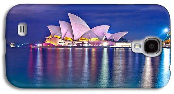 Vivid Colour Galaxy S4 Cases - Sydney Opera House Pre Dawn Galaxy S4 Case by Az Jackson
