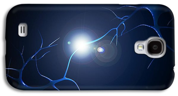 Computer Generated Galaxy S4 Cases - Synapse, Artwork Galaxy S4 Case by Sciepro
