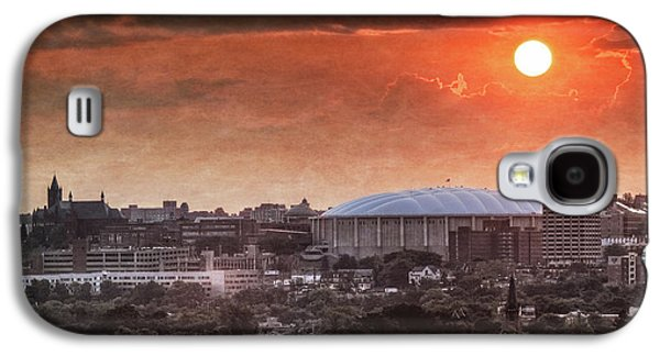 Syracuse Sunrise Over The Dome Galaxy S4 Case by Everet Regal