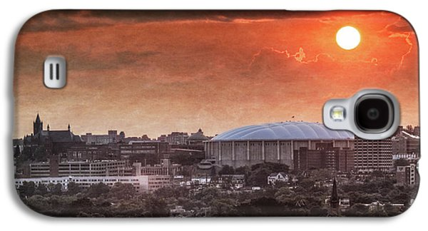 University Galaxy S4 Cases - Syracuse Sunrise over the Dome Galaxy S4 Case by Everet Regal