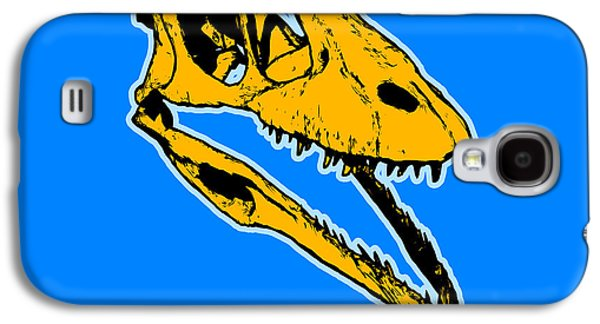 T-rex Graphic Galaxy S4 Case by Pixel  Chimp