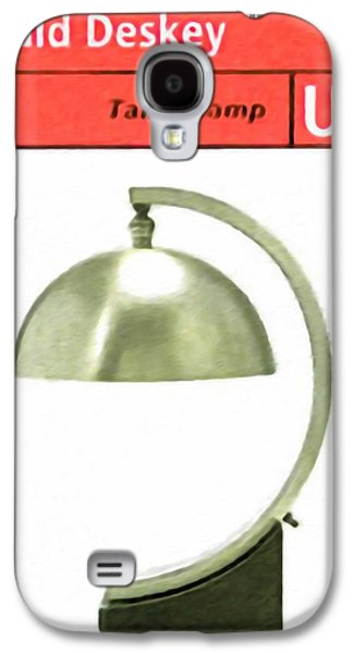 Old Pitcher Paintings Galaxy S4 Cases - Table lamp Galaxy S4 Case by Lanjee Chee
