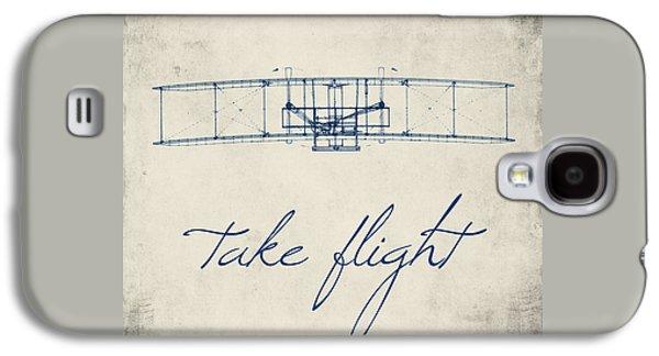 Take Flight Galaxy S4 Case by Brandi Fitzgerald