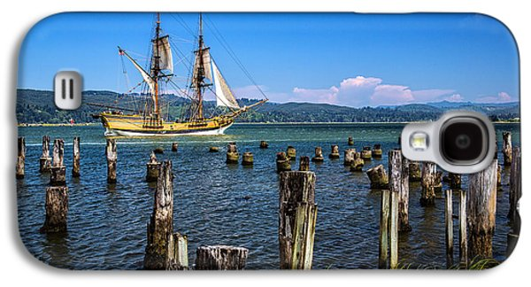 Tall Ship Galaxy S4 Cases - Tall Ship Lady Washington Galaxy S4 Case by Robert Bynum