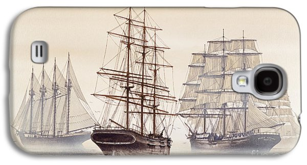 Tall Ships Galaxy S4 Case by James Williamson